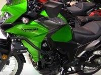 Kawasaki Versys-X 300 на выставке