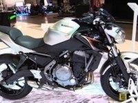 Kawasaki Z650 на выставке в Милане