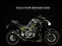 Официальный ролик Kawasaki Z900