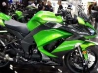 Kawasaki Z1000SX на выставке