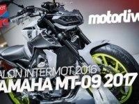 Yamaha MT-09 на выставке