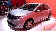 Dacia Logan на выставке