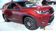 Toyota Highlander на выставке