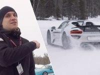 Porsche много не бывает. Зимний тест