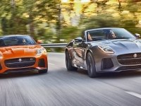 Проморолик Jaguar F-Type SVR Convertible и F-Type Coupe