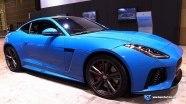 Jaguar F-Type SVR на выставке