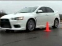 Видео тест Mitsubishi Lancer Evolution Х