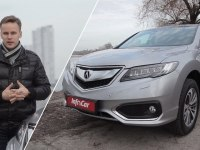 Тест-драйв Acura RDX 2017