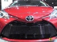 Toyota Yaris на выставке