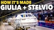 Репортаж о производстве Alfa Romeo Stelvio