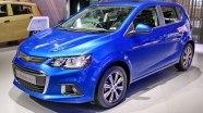 Chevrolet Sonic (Aveo Hatchback) на выставке