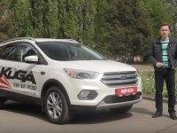 Тест-драйв Ford Kuga 2016