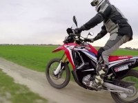 Honda CRF250 Rally в динамике