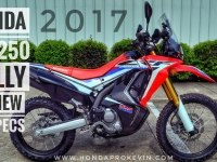 Обзор Honda CRF250 Rally