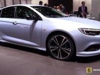 Opel Insignia Grand Sport на выставке