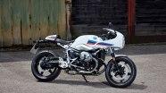 BMW R nineT Racer  в движении