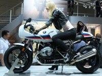 BMW R nineT Racer на выставке