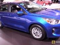 Kia Rio Sedan на выставке