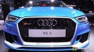 Audi RS3 Sedan на выставке