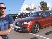 Тест-драйв Audi SQ5
