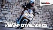 Тест Keeway Cityblade 125