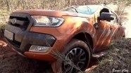 Ford Ranger на бездорожье
