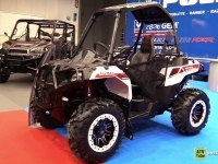 Polaris ACE 570 на выставке