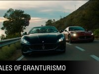 Реклама Maserati GranCabrio MC