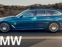 Промо видео BMW 5-Series Touring (G31)