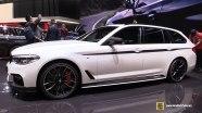 BMW 5 Series Touring - интерьер и экстерьер