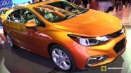 Chevrolet Cruze на выставке в Детройте