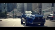 Lexus NX: Glassworld