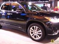 Chevrolet Traverse - экстерьер и интерьер