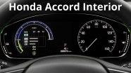 Honda Accord - детальный обзор интерьера