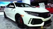 Honda Civic Type R - экстерьер и интерьер