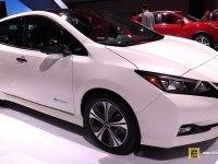 Nissan Leaf - интерьер и экстерьер