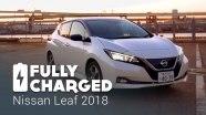 Обзор Nissan Leaf от Fully Charged
