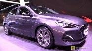 Hyundai i30 Fastback - экстерьер и интерьер