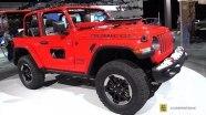 Jeep Wrangler - экстерьер и интерьер