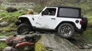 Jeep Wrangler - пониженная передача на бездорожье