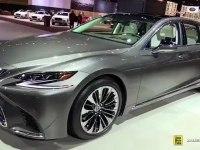 Lexus LS 500 - экстерьер и интерьер