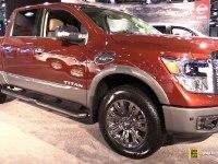 Nissan Titan Crew Cab - экстерьер и интерьер