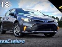 Toyota Avalon Hybrid - подробный обзор