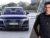 Тест-драйв Audi A8 2018