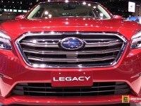 Subaru Legacy - экстерьер и интерьер
