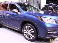 Subaru Ascent - экстерьер и интерьер
