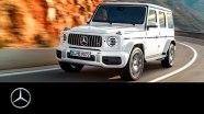 Промо видео Mercedes G63 AMG