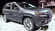 Интерьер и экстерьер Jeep Cherokee