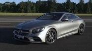 Mercedes S-Class Coupe на дорогах Германии