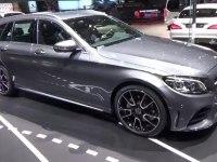 Mercedes C-Class Estate - экстерьер и интерьер